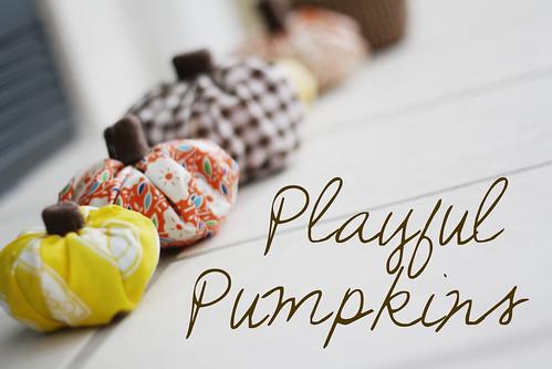 Playful Pumpkins   by ohsohappytogether