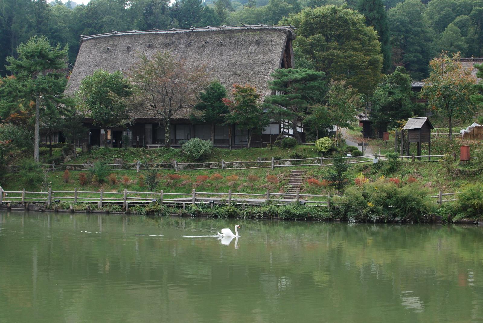 Reconstrucción de pueblo tradicional japonés, Hida no sato