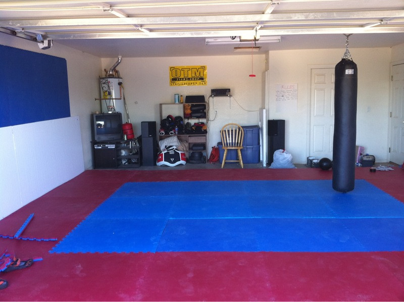 Home gym for mma and boxing law bob loblaw flickr