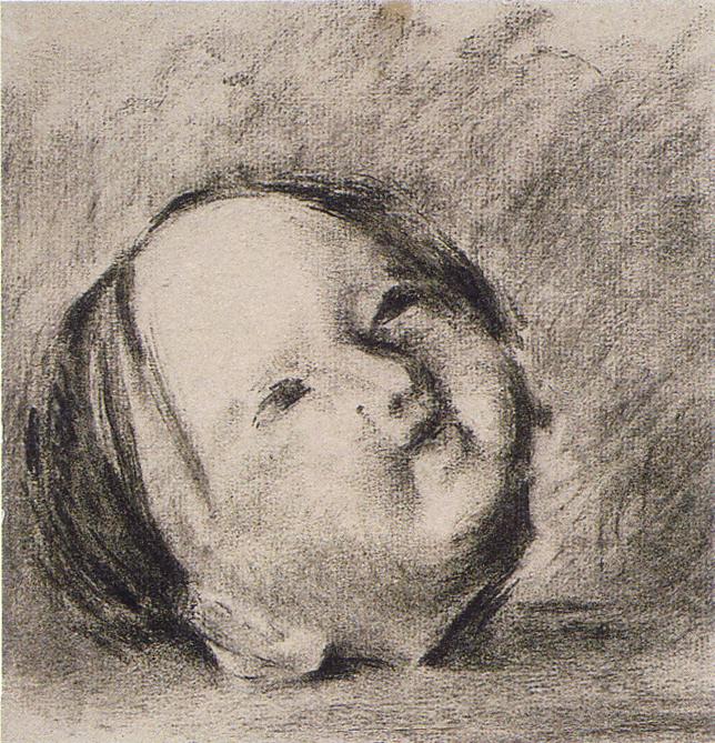 稲垣仲静「人形の首」(1920)