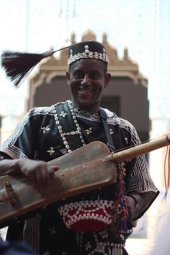 Morocco: Marrakech, Gnawa musician: October 2010 | by amodelofcontrol