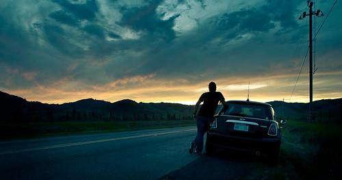 road sunset nikon sigma minicooper 24mm nicasio project365 fgr 365days savorthemoment d700