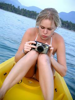 Anya with camera