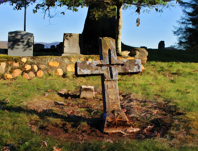 Old rugged Cross...