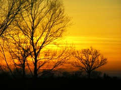 tramonto in oltrepo