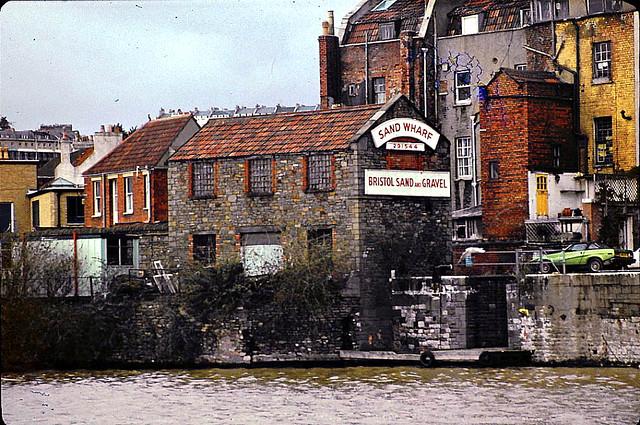 Sand Wharf, Hotwell Road, Bristol 1982