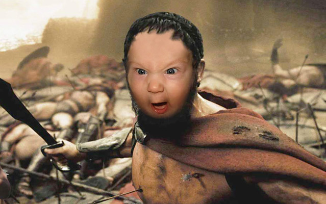 El niño espartano