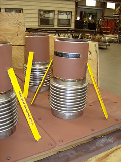 605 Single Expansion Joints for a Refinery in Asia