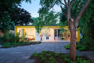 prefab 1960s harvard design London Wimbledon House pavers | by mod*mom