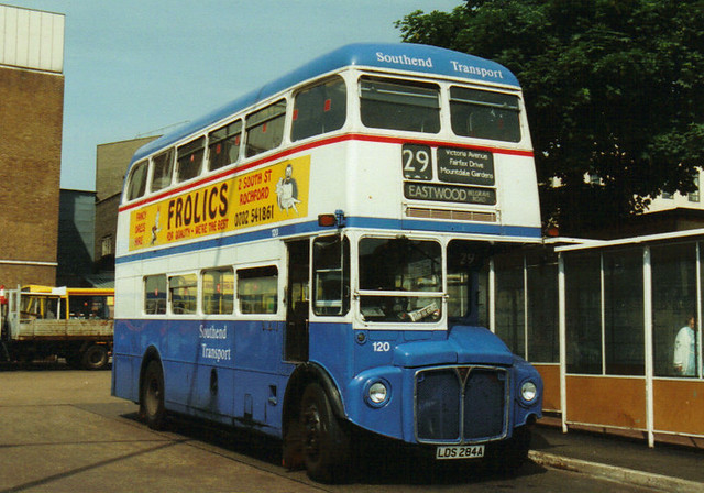 120, LDS 284A, AEC Routemaster, Park Royal Body H36-28R, 1960 (t.1993) (Ex-WLT 546)
