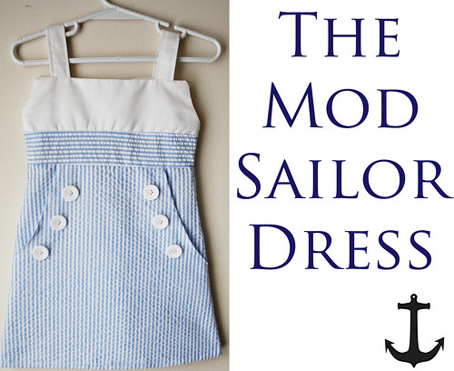 The Mod Sailor Dress | by ohsohappytogether
