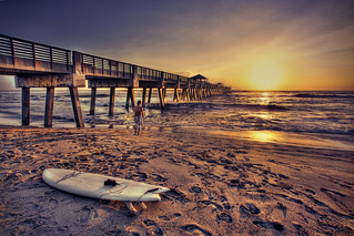 Surfer Catching the Early Morning Wave | by Captain Kimo