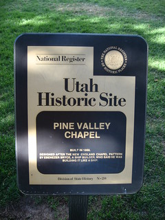 Pine Valley, Utah (9) | The Pine Valley Chapel and Tithing ...