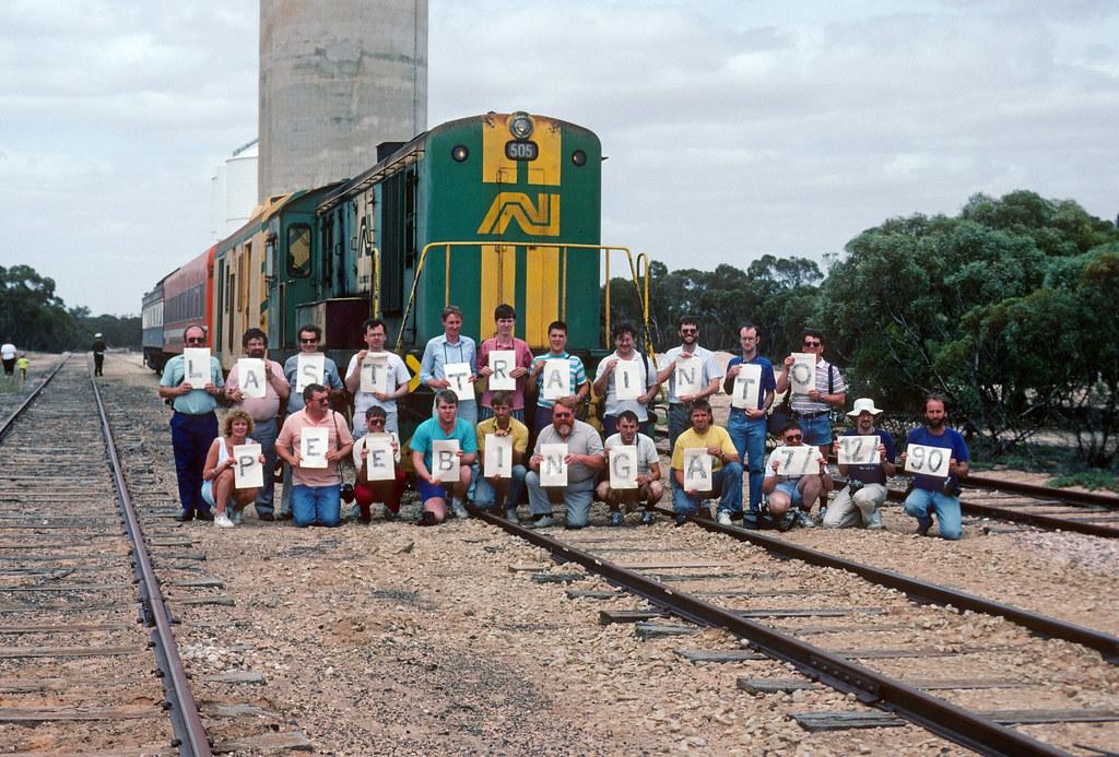 RTA group, Peebinga by Rail Tourist Association