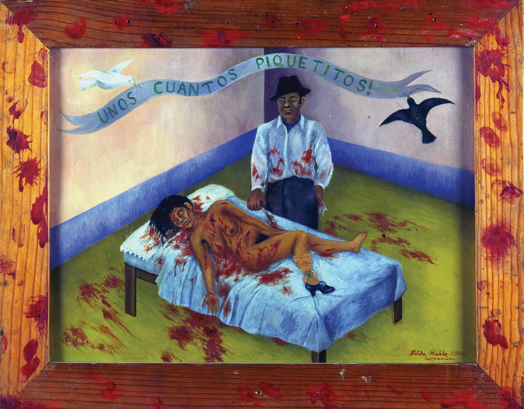 """ALT=""""Violenza sulle donne Frida Khalo"""""""