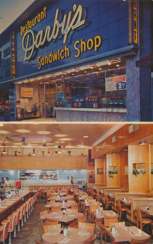Darby S Restaurant Miami Beach Florida 216 Lincoln Road