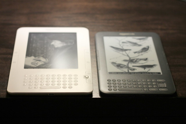 Kindle 2 vs Kindle 3