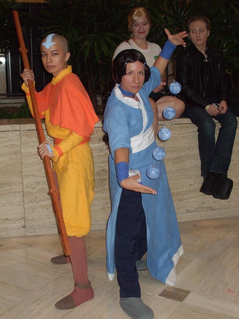 AWA 2010 Avatar: The Last AirBender   Ang and Kitara