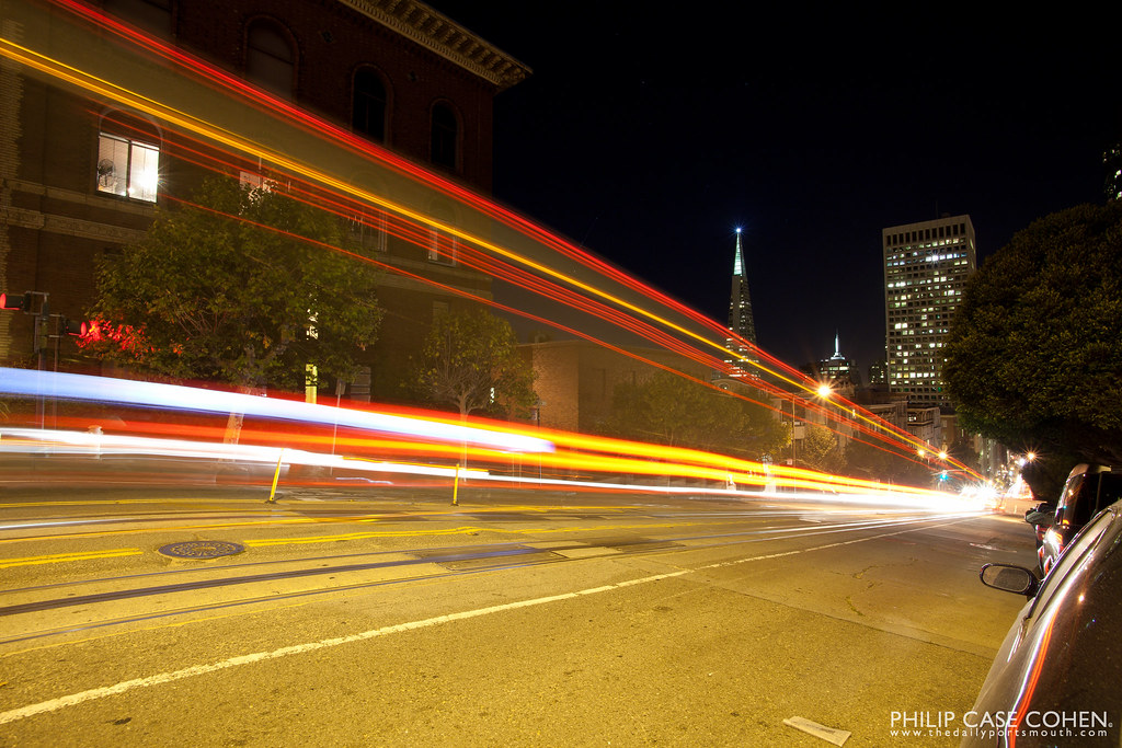 Streaks | Transamerica Pyramid by Philip Case Cohen