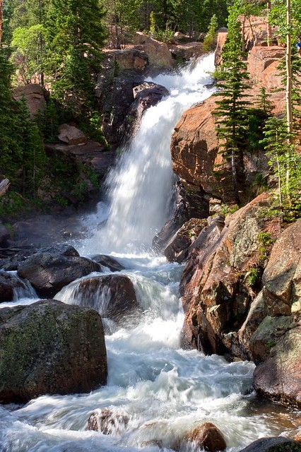 Alberta Falls, Rocky Mountains