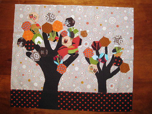 Fresh and Funky October Tree Block | by SewKnitGrow