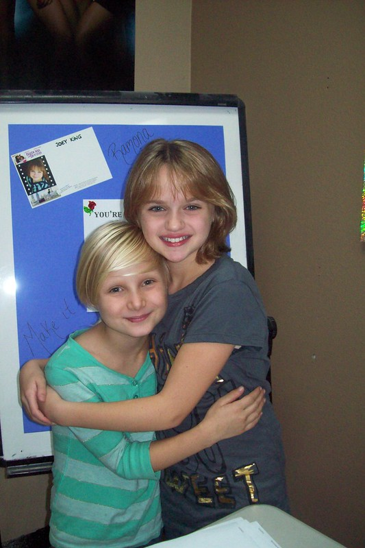 Joey King and me