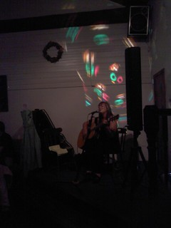 Fiona Hanlon at New Dungeon Ghyll Hotel Sept 2010