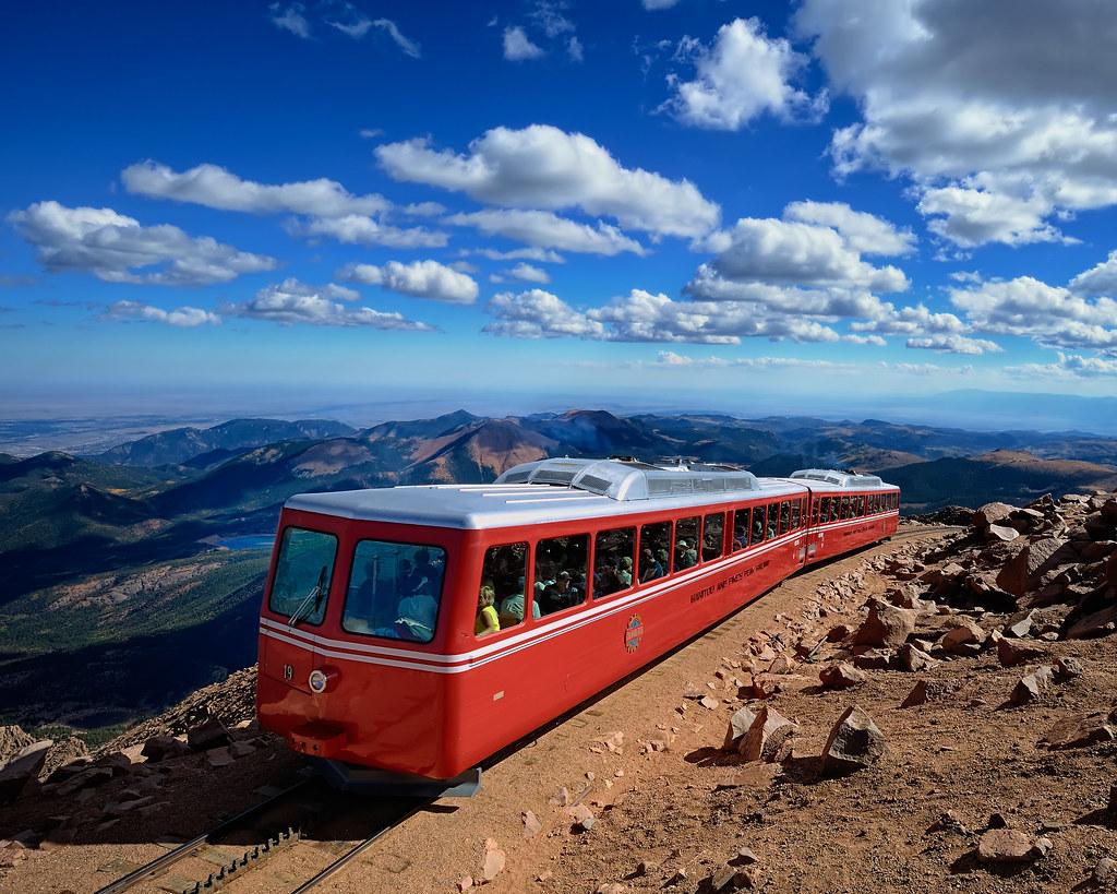 The Pike's Peak Cog Railway at 14,115 Feet (4300+ m)   Flickr