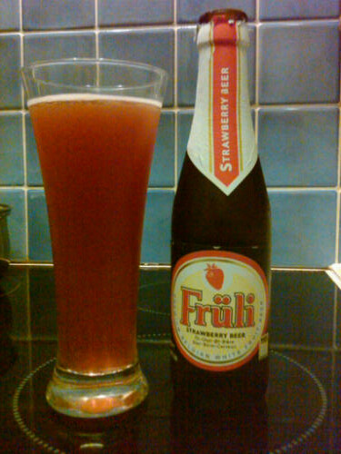 One for the ladies - Fruli Strawberry Beer