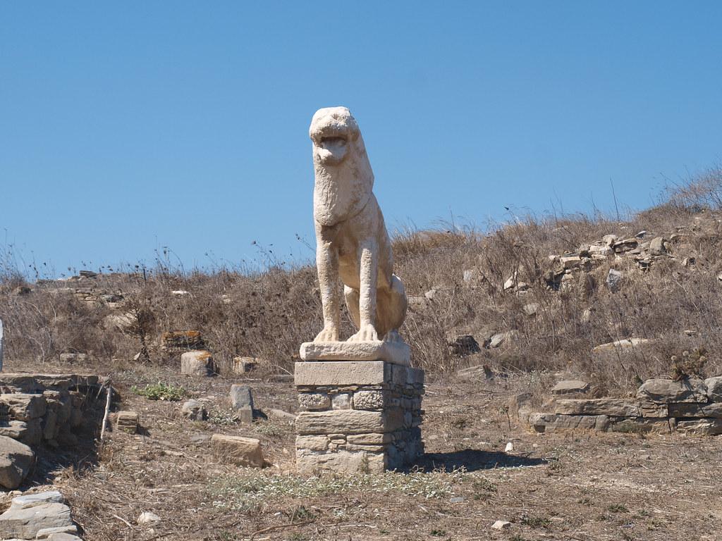 Statuary on Delos (V)
