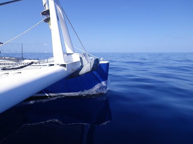 Motoring in the Gulf Stream