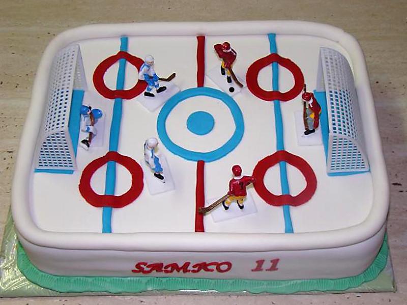 Narodeninova Torta _ Birthday Cake Ice Hockey
