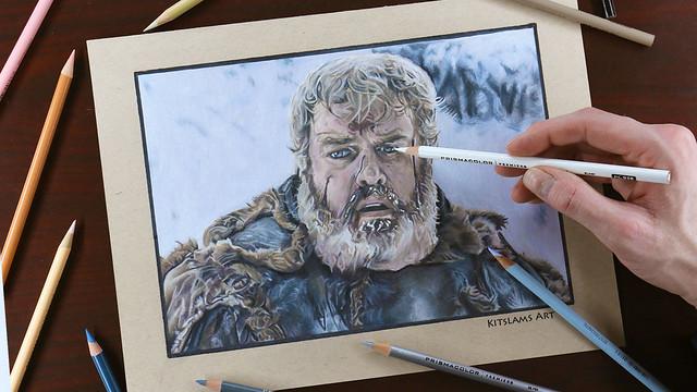 Hodor Drawing