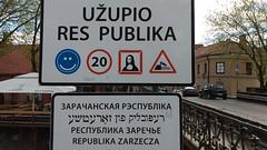 Vilnius – Republik Užupis