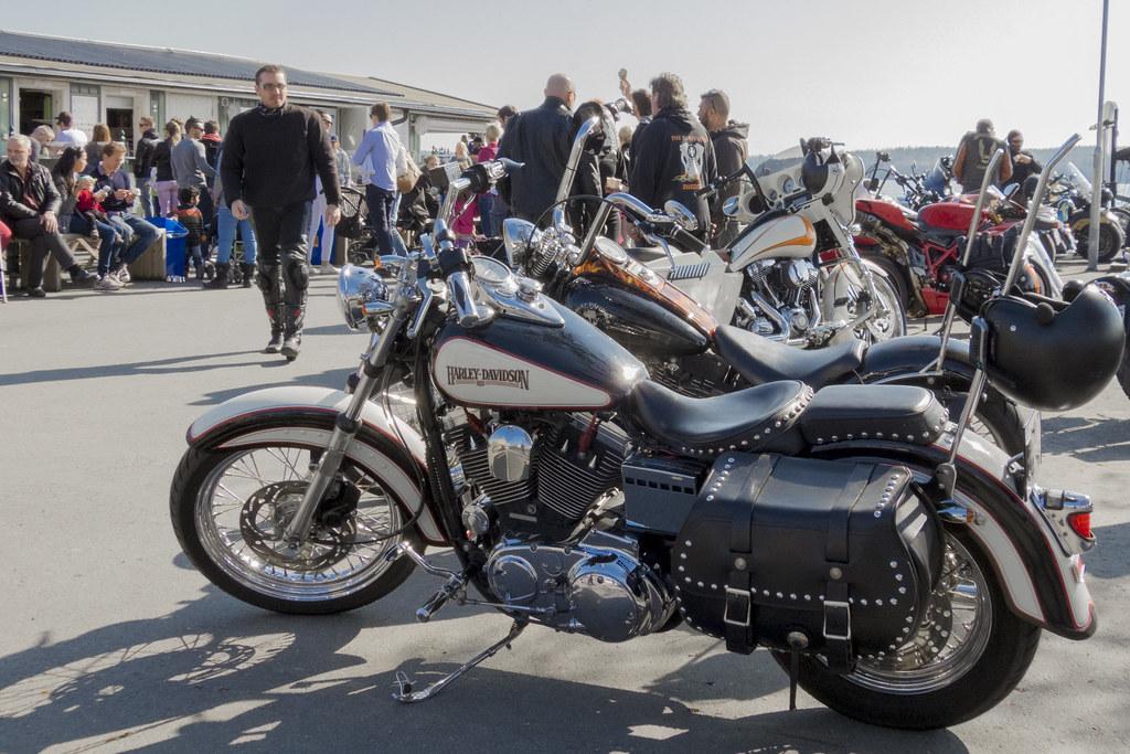 1989 Harley Davidson Heritage Softail Classic   Photo taken …   Flickr