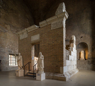 sepolcro dei Platorini, Museo nazionale romano alle terme di Diocleziano, Roma