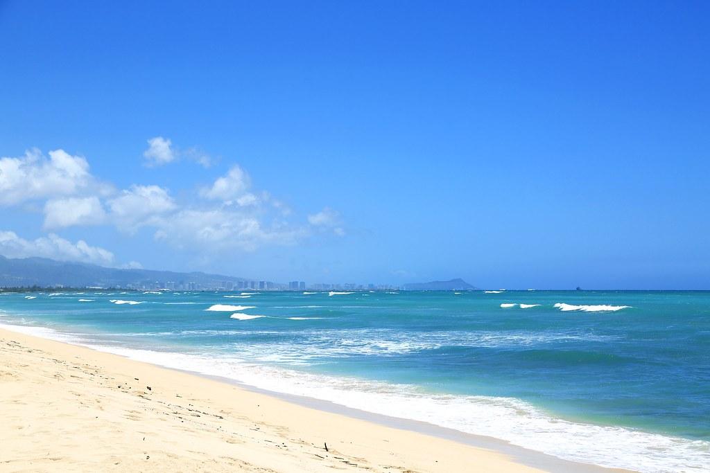 Waikiki Side View from Ewa Beach Park