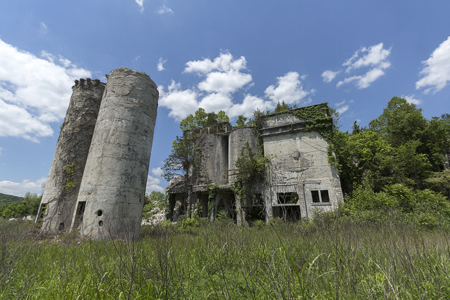 Ruins of Gager Lime and Manufacturing Company, Franklin County, Tennessee