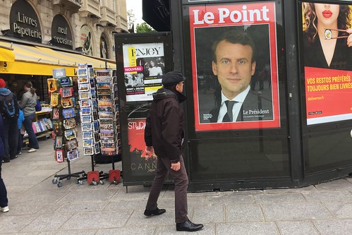 French Election: Le Point   by Lorie Shaull