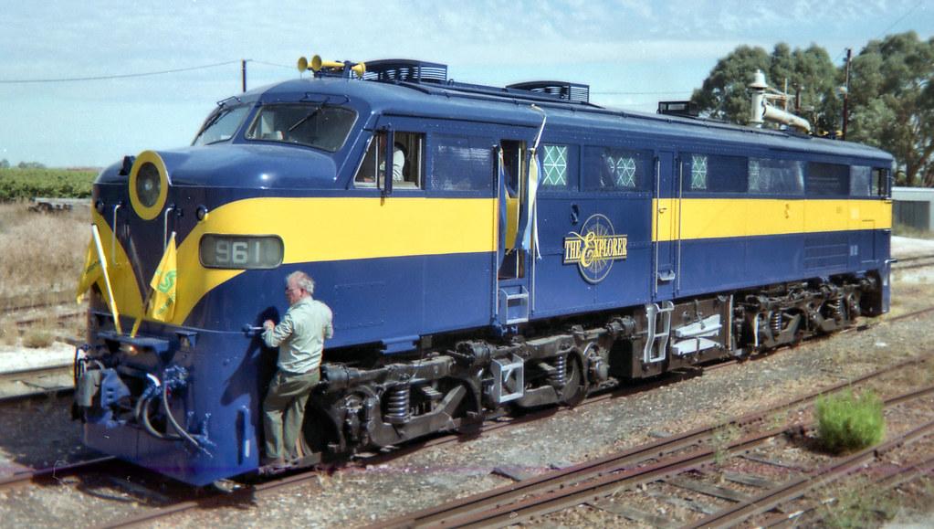 961 Explorer Special Nuriootpa Yard Monday April 12th 1993-C by Daven Walters