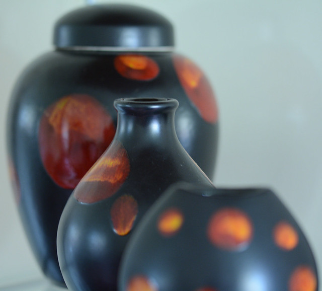 Poole Pottery Galaxy Vases