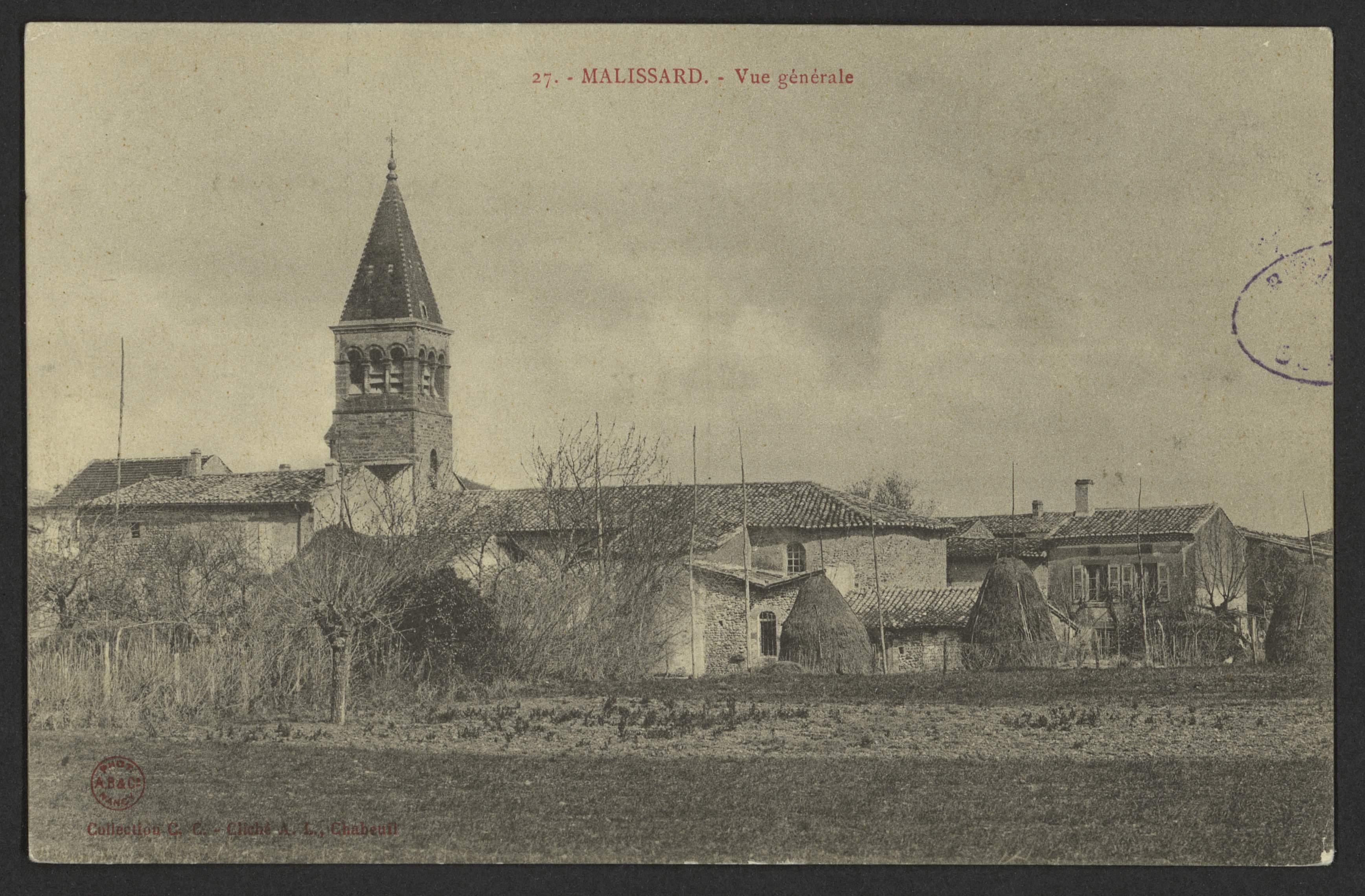 Malissard - Vue générale