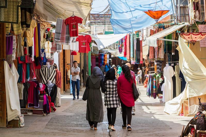 Rabat's souk