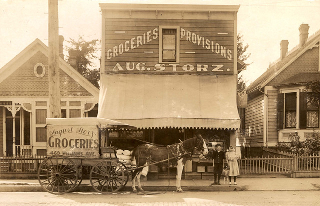 August Storz Groceries, 1910