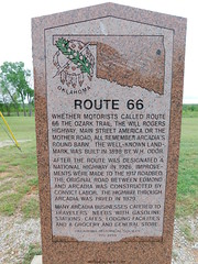 Route 66 Historic Marker