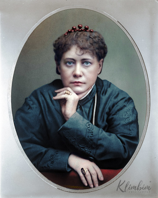 Helena Blavatsky | Елена Блаватская, 1877