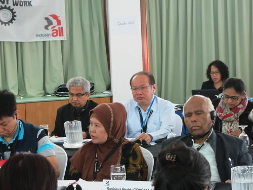 圖05各國代表專心聆聽總會未來計劃