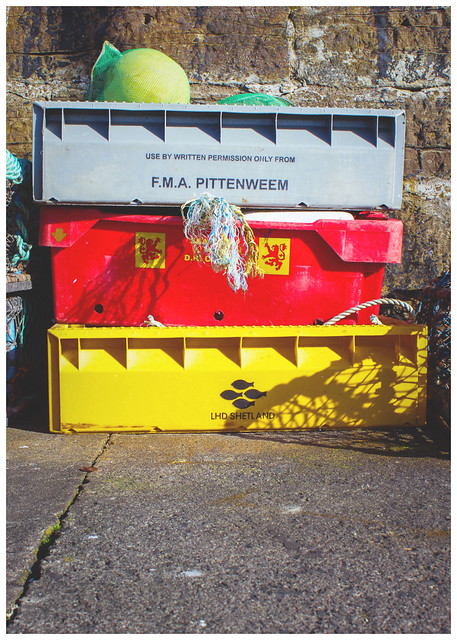 Fishing Containers, Pittenweem