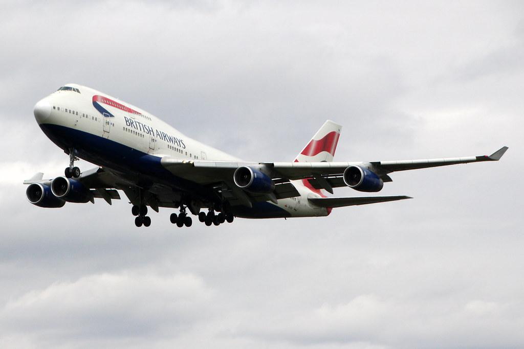 British Airways G-CIVA