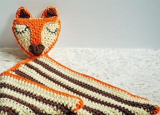 fox blanket for baby